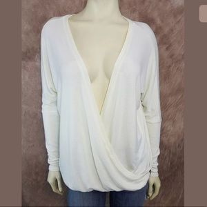 Hard Tail Sweaters - Hard Tail Wrap Sweater SZ XS Draped Layering NWT